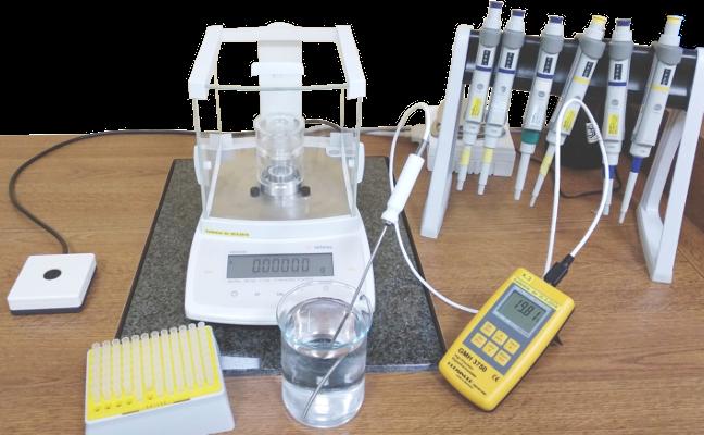 laboratoř pipet